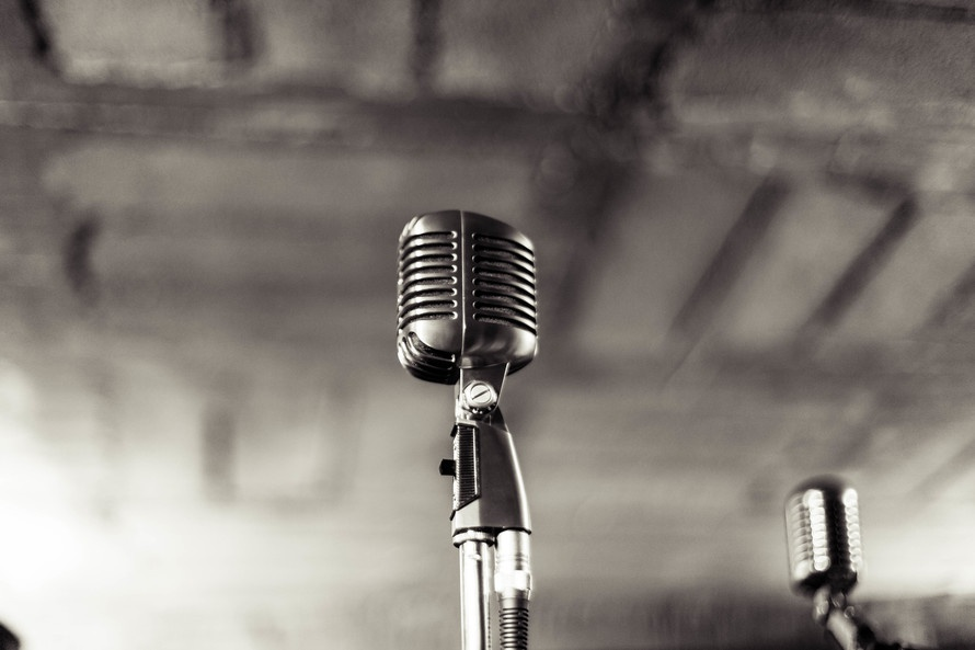 Vintage Microphone Meson Panza Verde