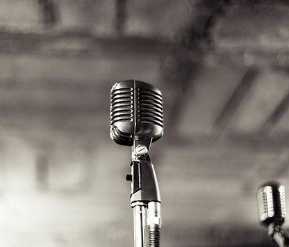 Vintage Microphone,