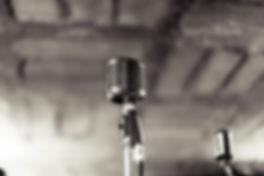 Weinlese-Mikrofon