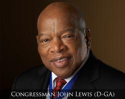 Congressman John Lewis (D-GA)