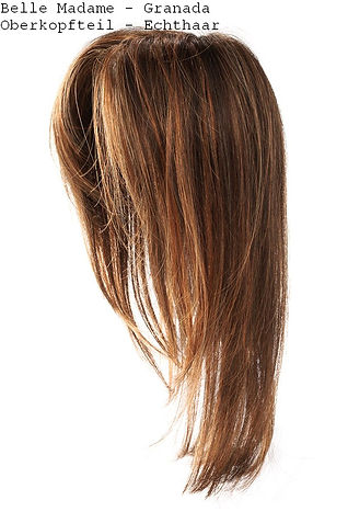 Oberkopfhaarteil Echthaar diffuser Haarausfall