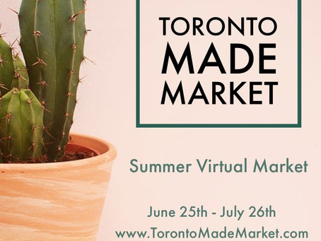 Ride the wave of Toronto MADE Market: Summer's Edition!