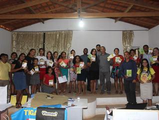 AD do povoado Paiol do Centro adere ao projeto Clube da Bíblia!