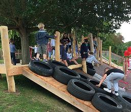 LHLA Offham School playground