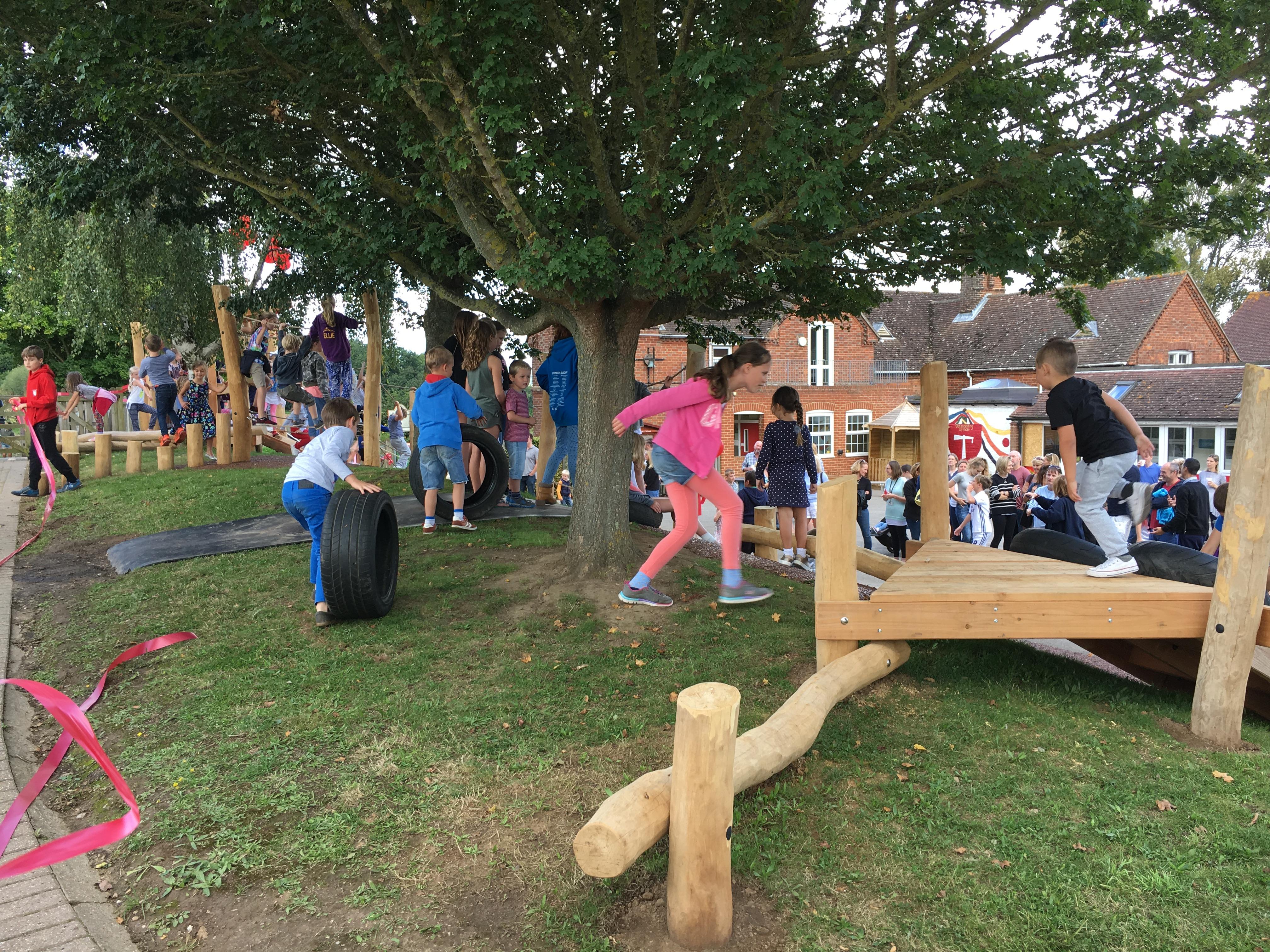 Offham Primary School Playground