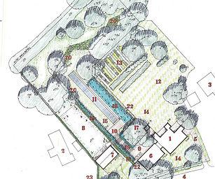 LHLA Old Rectory landscape design