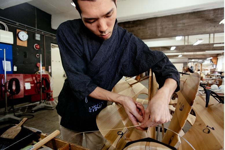 ISHIKAWA-SAN AT WORK
