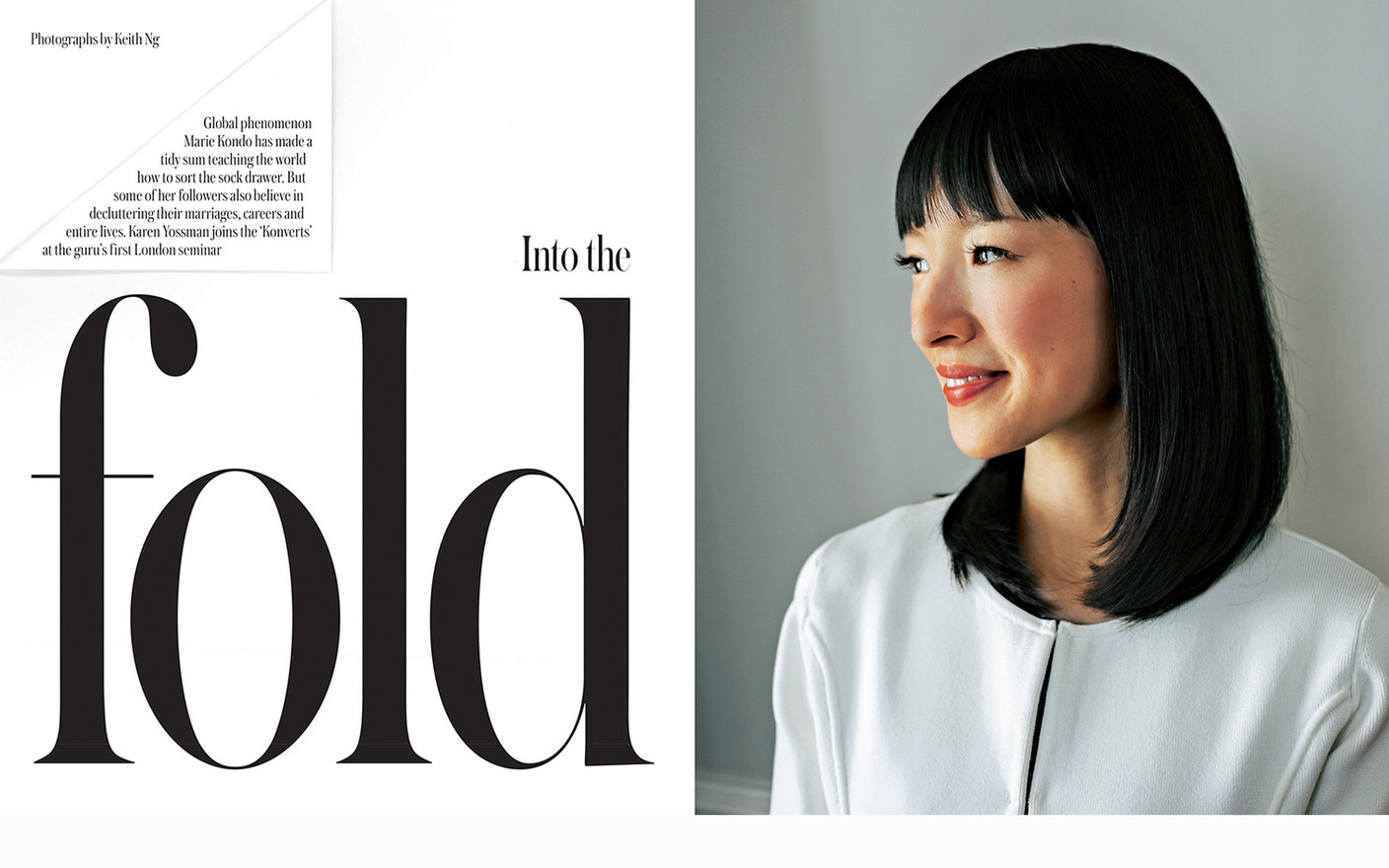MARIE KONDO, AUTHOR & LIFESTYLE GURU