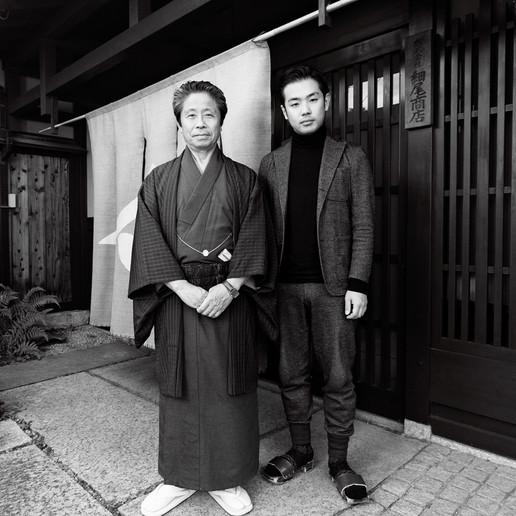 MASAO & MASATAKA HOSOO, 12TH GENERATION NISHIJIN MANUFACTURERS
