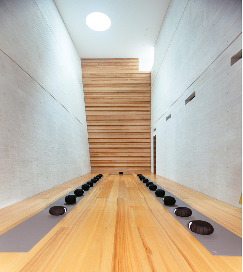 BYAKURENGE-DO, MEDITATION ROOM