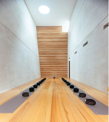 BYAKURENGE-DO, MEDITATION ROOM