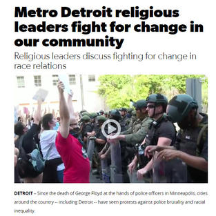 Metro Detroit religous leaders fight for change in our community