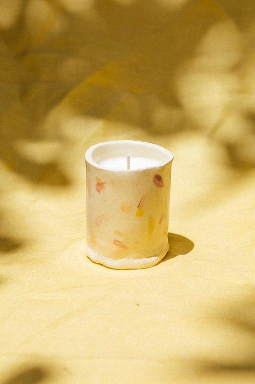 Handmade Ceramic Baby Tumbler Candle