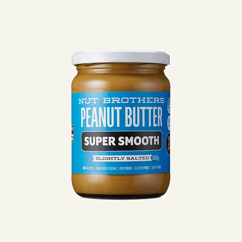 Nut Brothers Peanut Butter - Super Smooth 500g