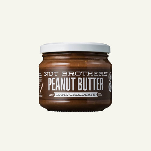 Nut Brothers Peanut Butter - Dark Chocolate 300g