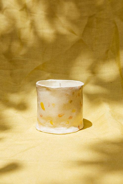 Handmade Ceramic Big Tumbler Candle