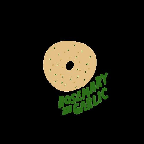10 Pack Rosemary and Garlic Bagels