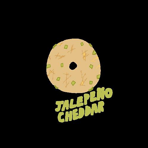 10 Pack Jalapeño Cheddar Bagels