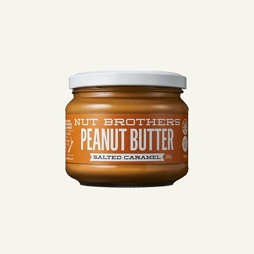 Nut Brothers Peanut Butter - Salted Caramel 300g