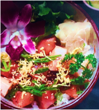 ハワイアンスタイルちらし寿司