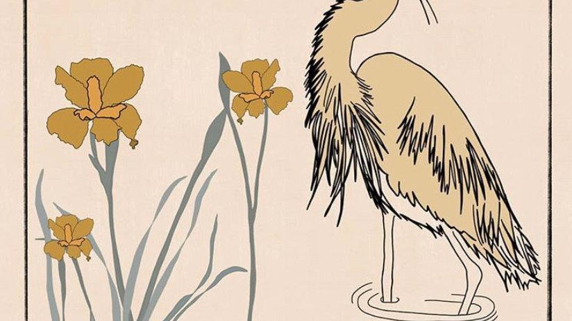 Stationary Cards - Heron + Iris