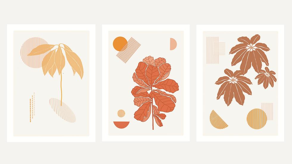 Tropical Print Series