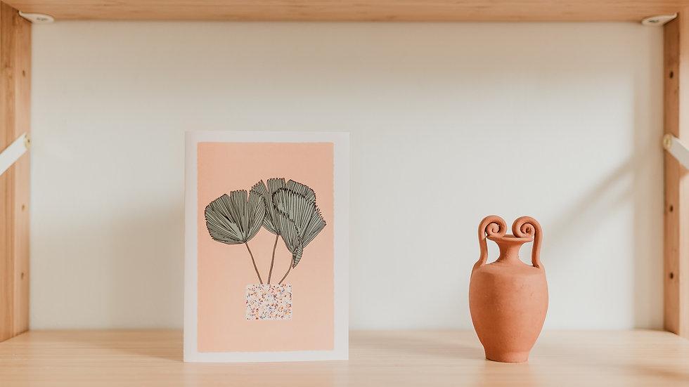 Stationary Cards - Palm Leaf