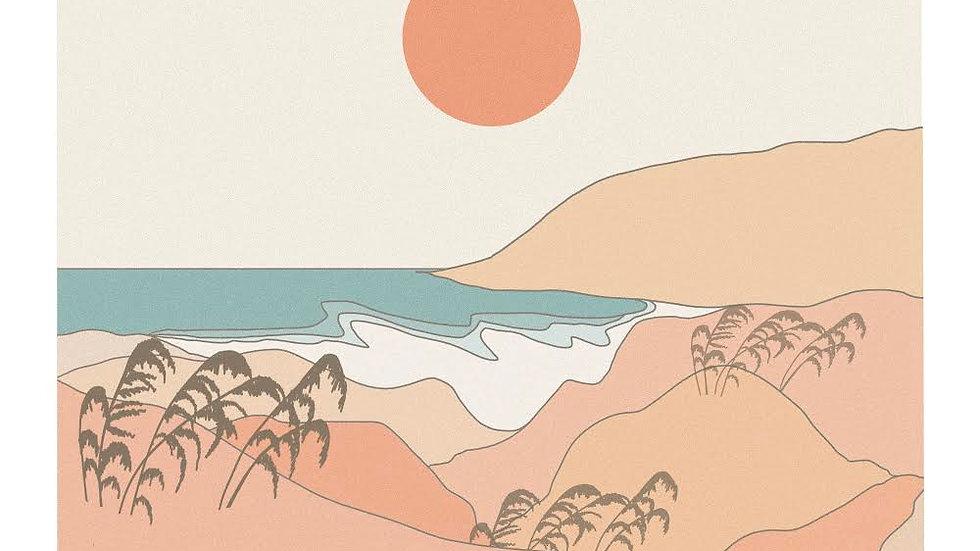 Summer days Print