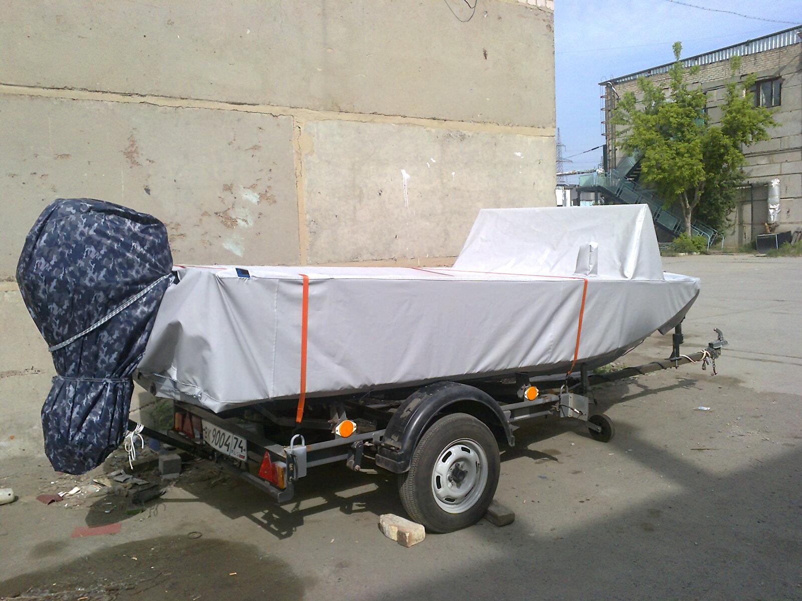 Транспортировочный тент на лодку ПВХ (4)