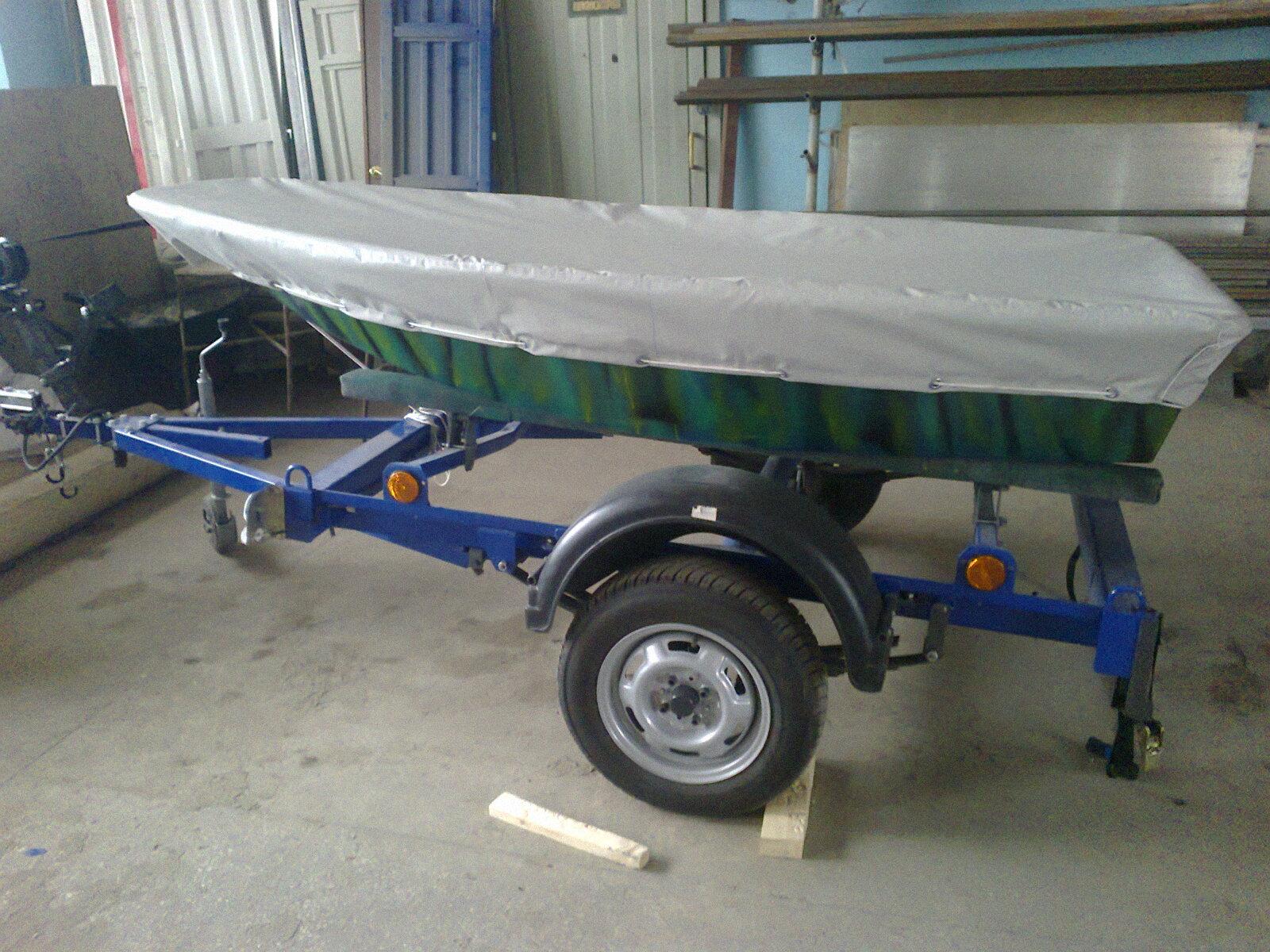 Транспортировочный тент на лодку ПВХ (3)