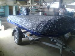 защитный чехол на лодку