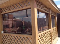 Мягкие окна  в беседки