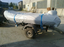 Транспортировочный тент на лодку ПВХ (2)