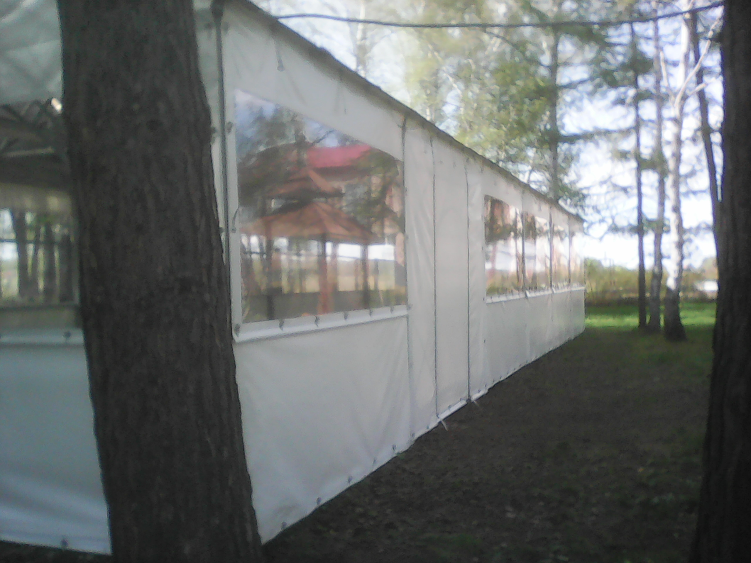 Мягкое окно в шатер
