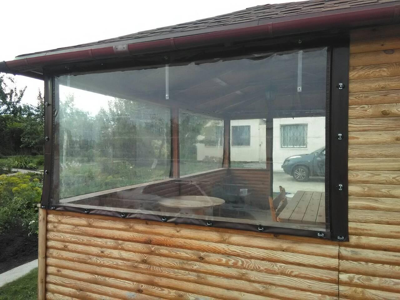 Мягкое окно в беседку на ремешках (2)