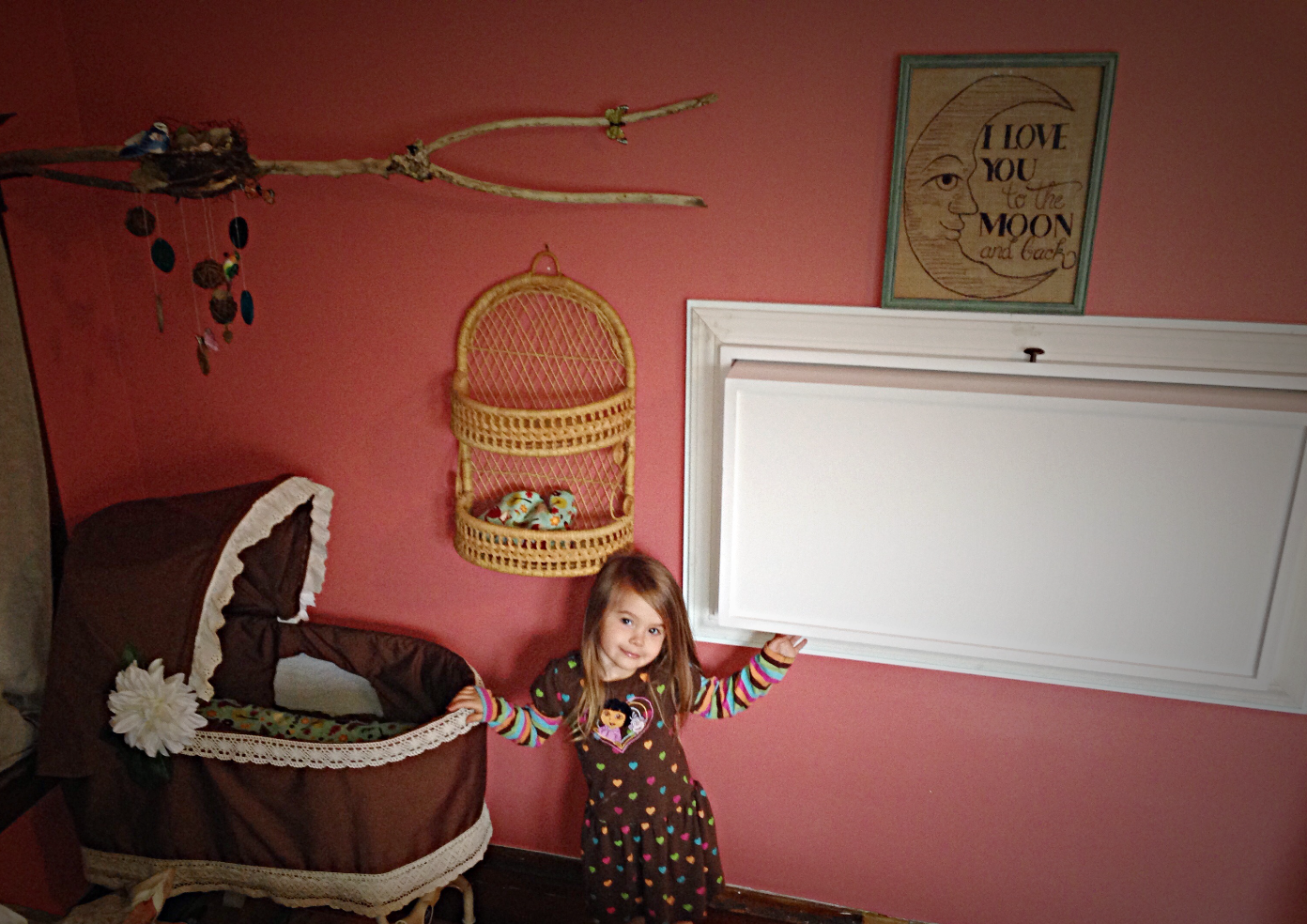 Wall Mounted Folding Changing Table