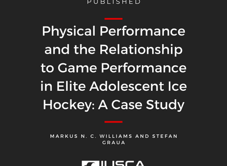 Physical Performance and the Relationship to Game Performance in Elite Adolescent Ice Hockey