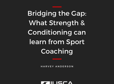 Bridging the Gap: What S&C can Learn from Sport Coaching