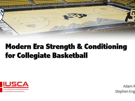 Modern Era Strength & Conditioning for Collegiate Basketball
