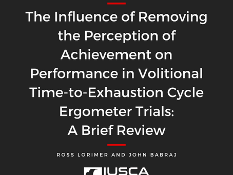 The Influence of Removing the Perception of Achievement on Performance
