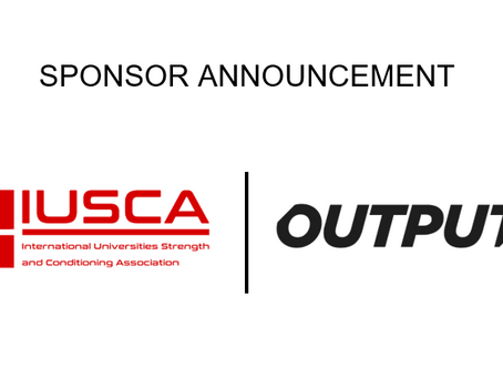 IUSCA welcomes innovative Output Sports as sponsor