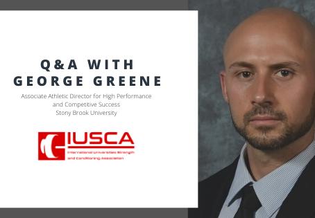 Stony Brook University - Coach George Greene Q&A