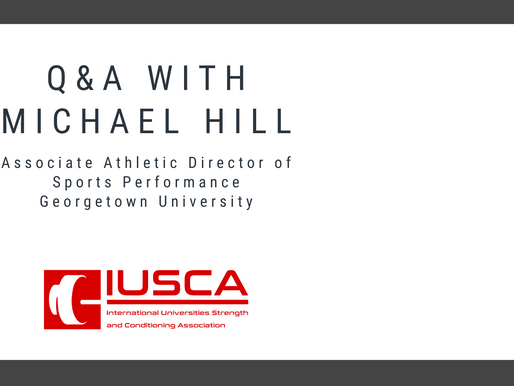 Georgetown University Athletics - Coach Michael Hill Q&A