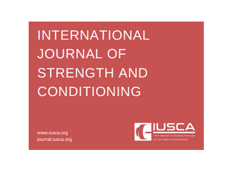 International Journal of Strength and Conditioning