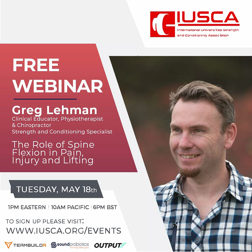 Greg Lehman | The Role of Spine Flexion in Pain, Injury and Lifting