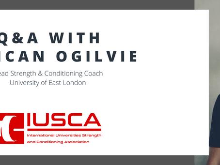 University of East London - Coach Duncan Ogilvie Q&A