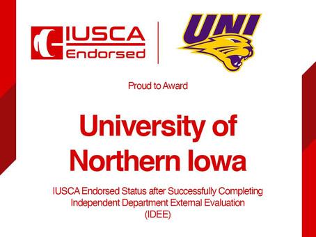 University of Northern Iowa attains IUSCA Endorsed Status (IDEE)