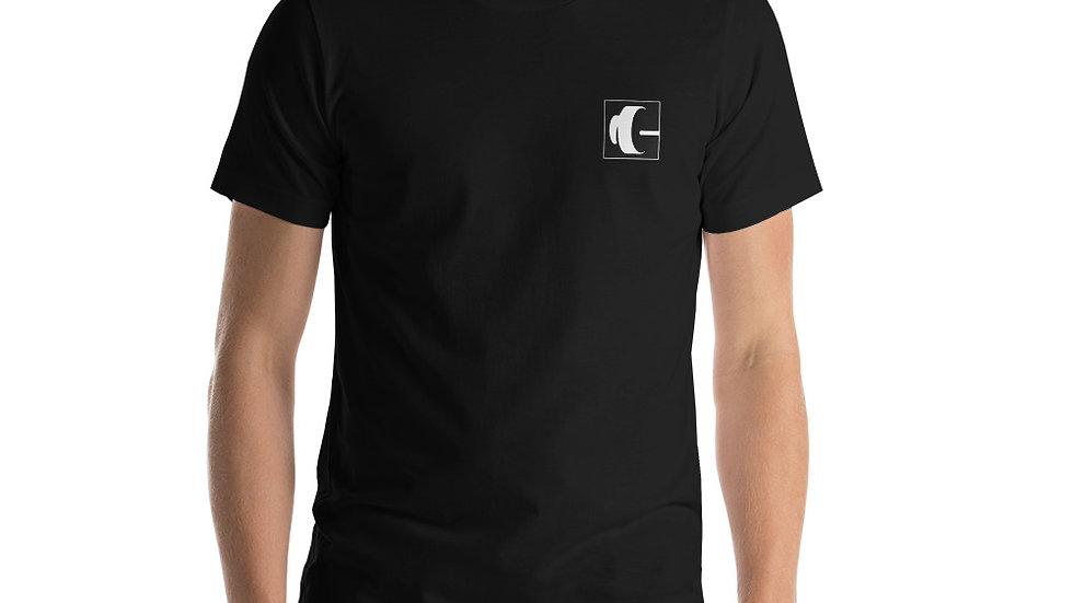 IUSCA White Logo T-Shirt