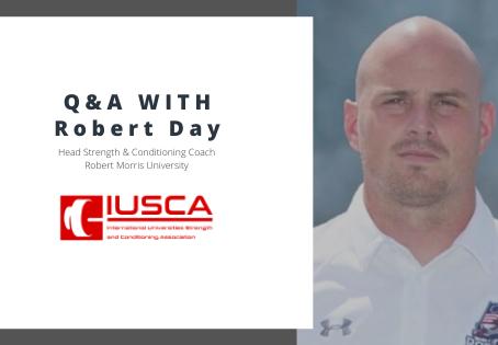 Robert Morris University - Coach Robert Day Q&A