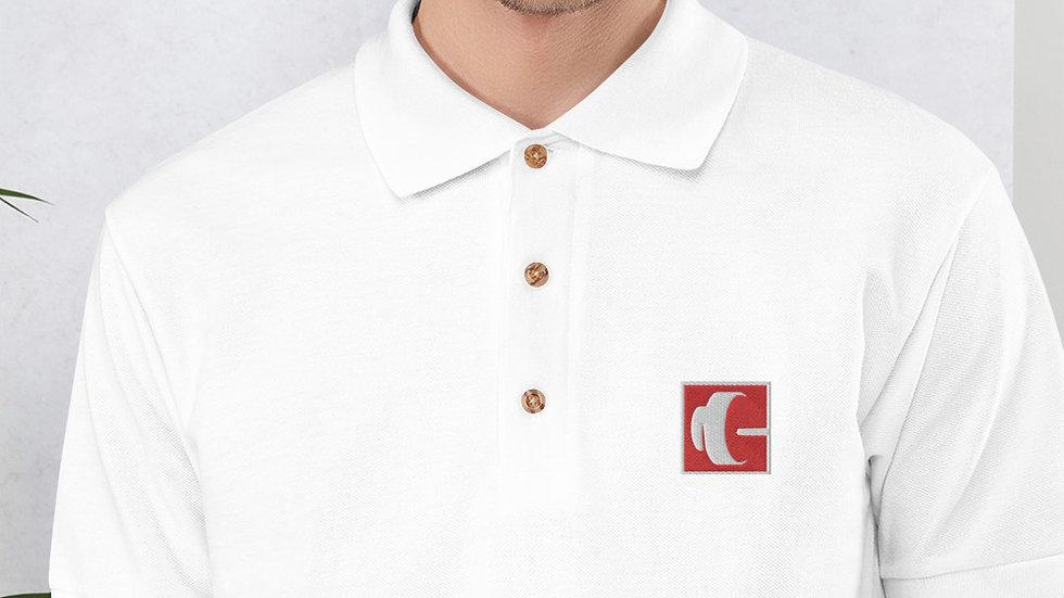 Embroidered Smart Polo Shirt
